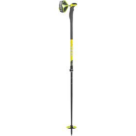 LEKI Guide Pro V Ski touring-sauvat, blue/white/neon yellow